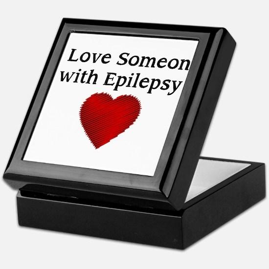 I love someone with epilepsy Keepsake Box