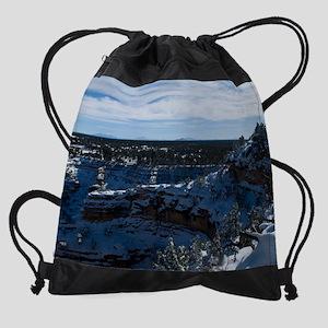 GCSnow2925_8x10 Drawstring Bag