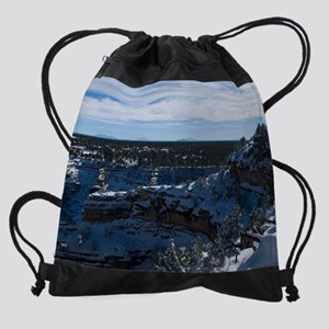 GCSnow2925_16x20 Drawstring Bag