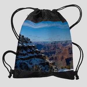 GCSnow2948_16x20 Drawstring Bag