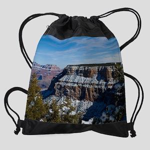 GCSnow2926_8x10 Drawstring Bag