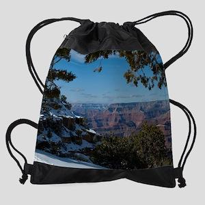 GCSnow2954_8x10 Drawstring Bag