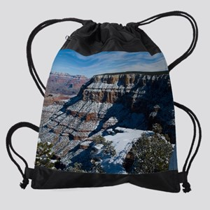 GCSnow2931_8x10 Drawstring Bag