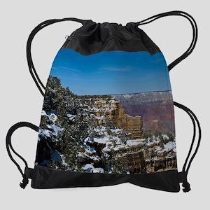GCSnow2933_8x10 Drawstring Bag