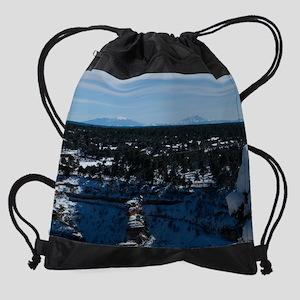 GCSnow2934_8x10 Drawstring Bag