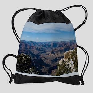 GCSnow2990_8x10 Drawstring Bag