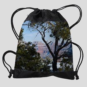 GCSnow2943_8x10 Drawstring Bag