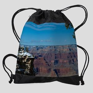 GCSnow3016_8x10 Drawstring Bag