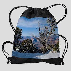 GCSnow3041_8x10 Drawstring Bag