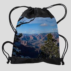 GCSnow3044_16x20 Drawstring Bag