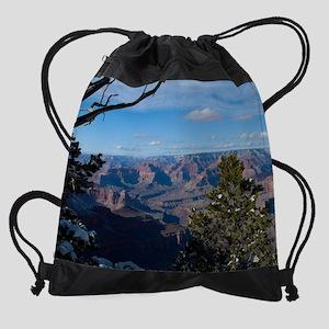 GCSnow3044_8x10 Drawstring Bag