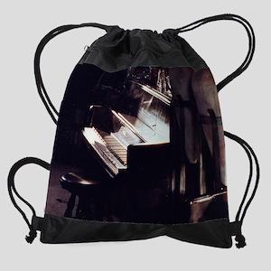 calendar piano Drawstring Bag