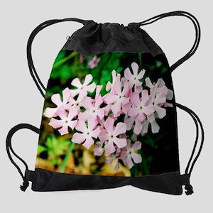 calendar pink flowers more Drawstring Bag