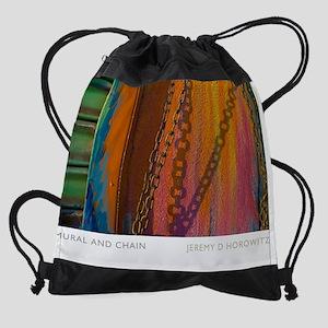 16X20-MURAL-AND-CHAIN Drawstring Bag