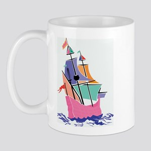 Mayflower Colors Right-handed Mug