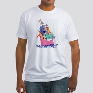 Mayflower Colors Fitted T-Shirt