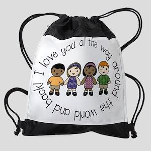 adoption3 Drawstring Bag