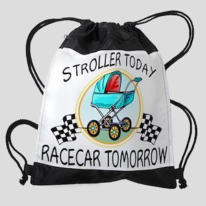 stroller today Drawstring Bag