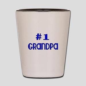 #1 Grandpa Shot Glass