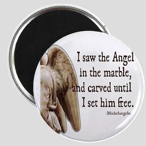 Michelangelo Angel Magnet