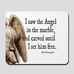 Michelangelo Angel Mousepad