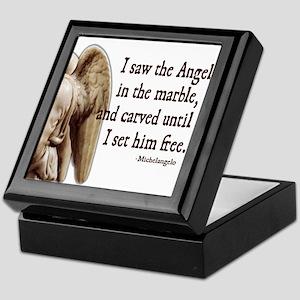 Michelangelo Angel Keepsake Box