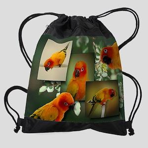 tacocollage Drawstring Bag