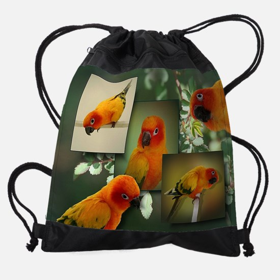 tacocollage.jpg Drawstring Bag