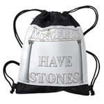 MASON STONES copy Drawstring Bag