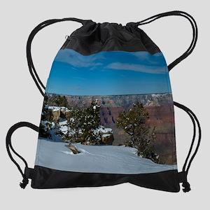 GCSnow2981_16x20 Drawstring Bag