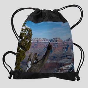 GCSnow2938_16x20 Drawstring Bag