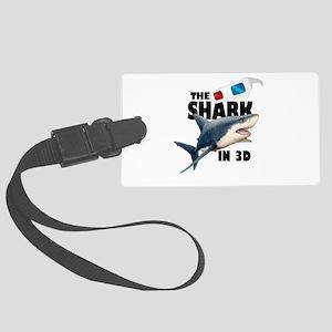 The Shark Movie Large Luggage Tag