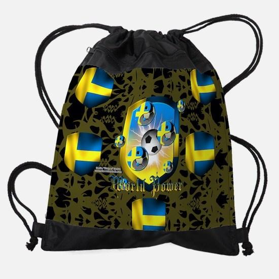 Swede World Power Drawstring Bag