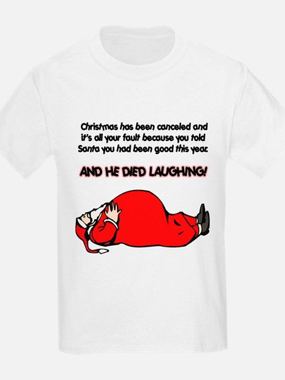Christmas Is Cancelled Joke T-Shirt