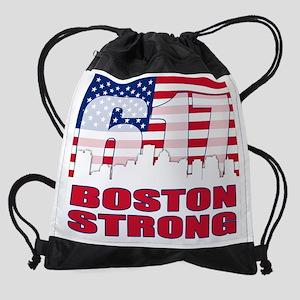Boston Strong Drawstring Bag