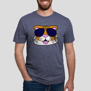 Steve the Tiger Mens Tri-blend T-Shirt