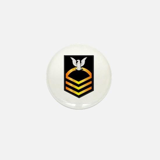 Navy - CPO - Rank - Gold Mini Button