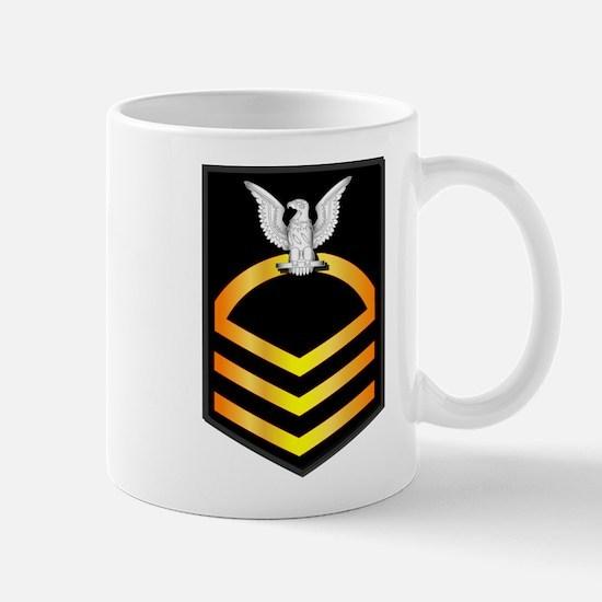Navy - CPO - Rank - Gold Mug