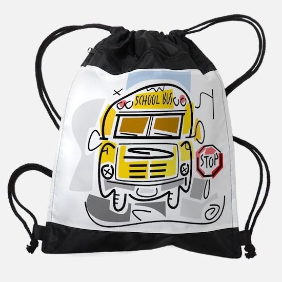 j0410911_school bus.png Drawstring Bag