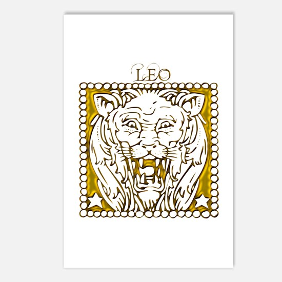 Leo the Lion Postcards (Package of 8)