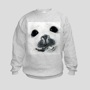 Harp Seal 3 Kids Sweatshirt