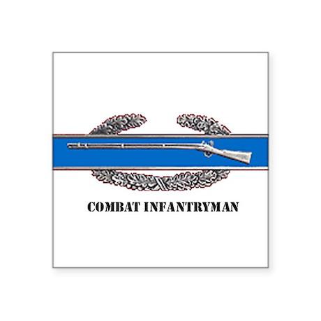 Combat Infantryman's Badge Rectangle Sticker