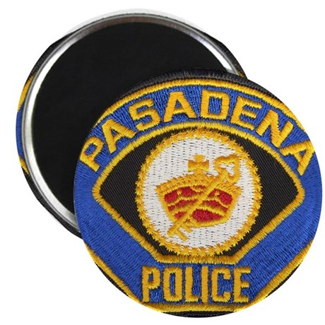 "Pasadena Police 2.25"" Magnet (10 pack)"