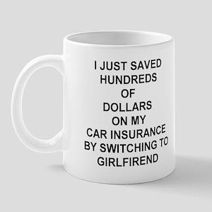 Saved Hundreds on Insurance Mugs