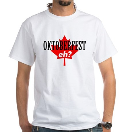 Elsinore Oktoberfest 2 Sided White T-Shirt