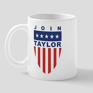 Join Harold Taylor Mug