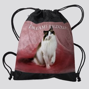 2010 Horizontal Ragdoll Drawstring Bag