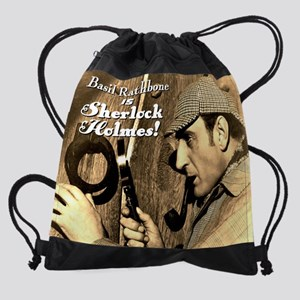SherlockCalendarCover Drawstring Bag