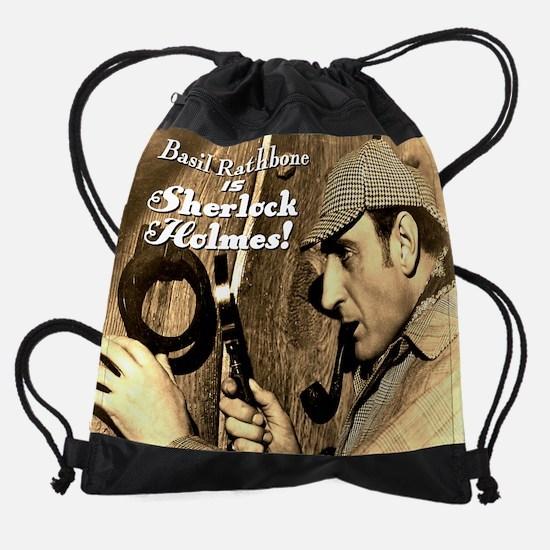 SherlockCalendarCover.png Drawstring Bag