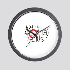 Abe Logo Wall Clock